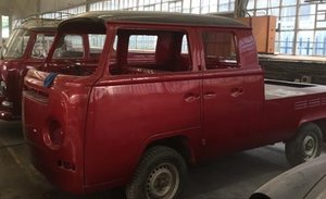 VW Double Cab Kombi project for restoration