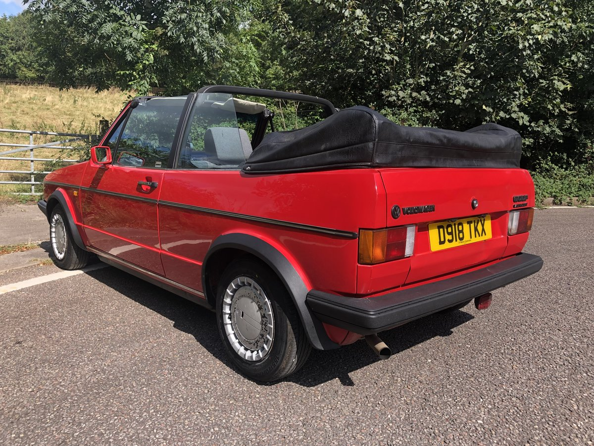 1987 VW Golf Clipper 1.8 Cabriolet with 12 Months MOT! For Sale (picture 3 of 6)