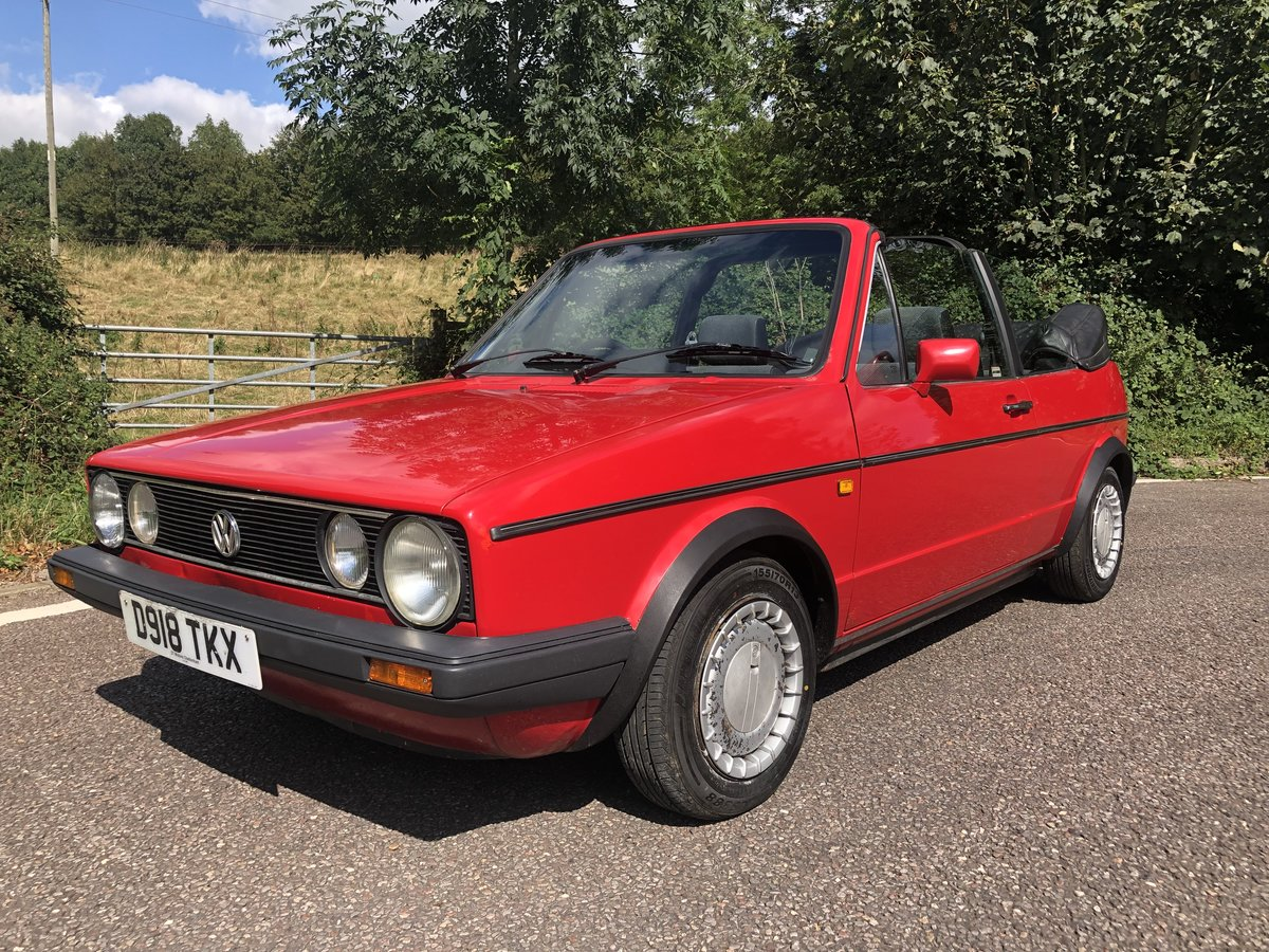 1987 VW Golf Clipper 1.8 Cabriolet with 12 Months MOT! For Sale (picture 4 of 6)