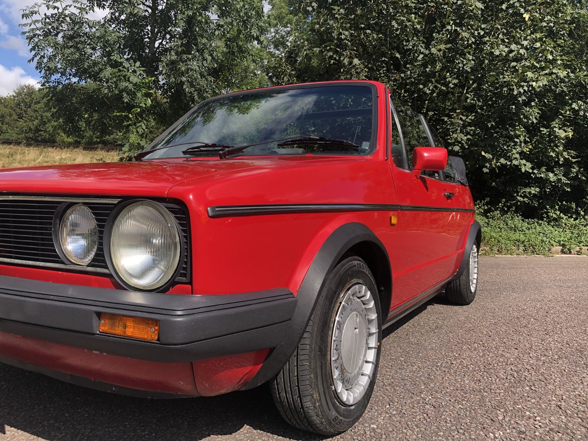 1987 VW Golf Clipper 1.8 Cabriolet with 12 Months MOT! For Sale (picture 5 of 6)