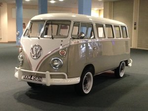 1975 Vw Splitscreen LHD Micro Bus For Sale
