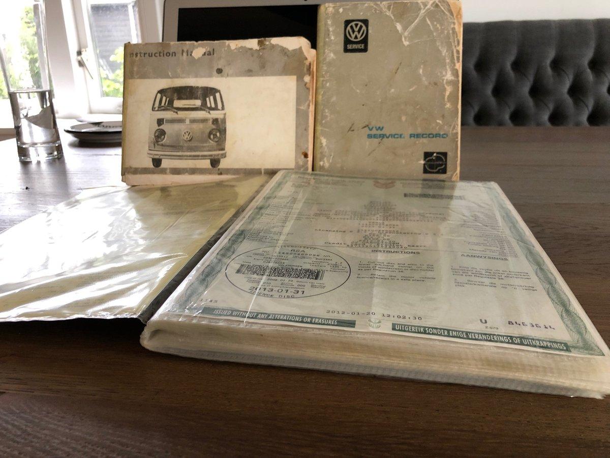 1973 VW T2 baywindow 2 liter RHD restored For Sale (picture 6 of 6)