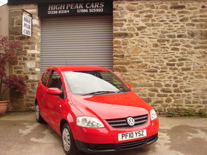 2010 10 VOLKSWAGEN FOX 1.2 55 42293 MILES. SUPERB. For Sale