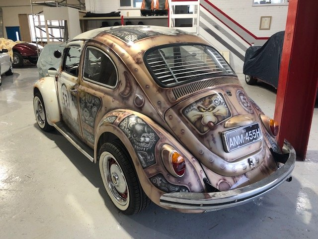 1970 VOLKSWAGEN FUSCA BEETLE 1300 BRAZILIAN CUSTOM AIRBRUSHED For Sale (picture 2 of 6)
