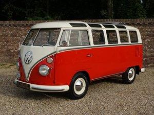 1966 Volkswagen T1 Samba Split-Window 21 windows, big sunroof, fu For Sale