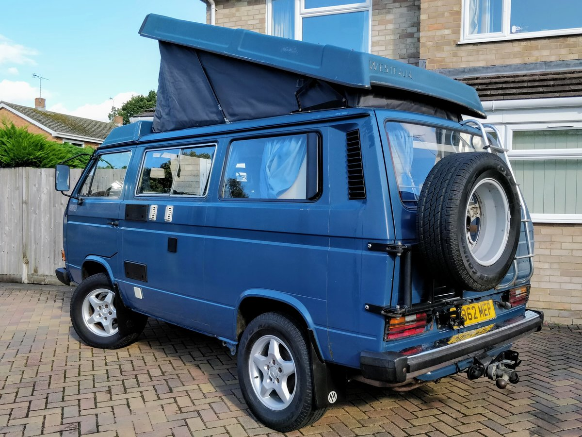 1990 VW T25 T3 2.1 DJ Syncro GL Westfalia Interior For Sale (picture 1 of 6)