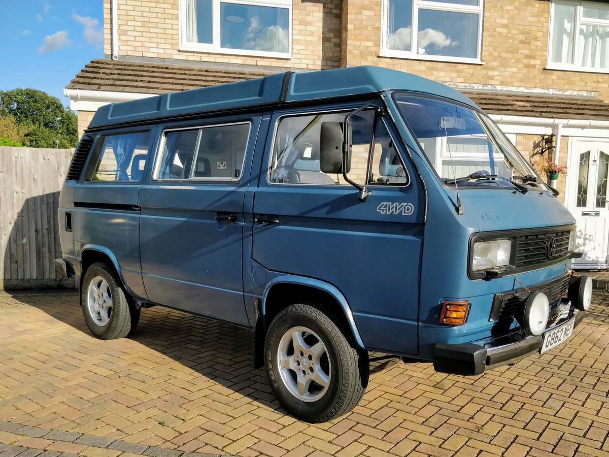 1990 VW T25 T3 2.1 DJ Syncro GL Westfalia Interior For Sale (picture 2 of 6)