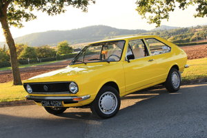 1974 VW Passat B1 Type 32 Coupe 1.3 in Yellow Rare For Sale