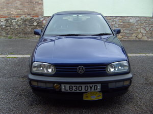 1994 VW Golf convertable. SOLD