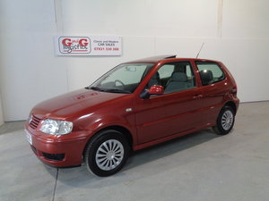 2001 Vw polo 1.4 match automatic