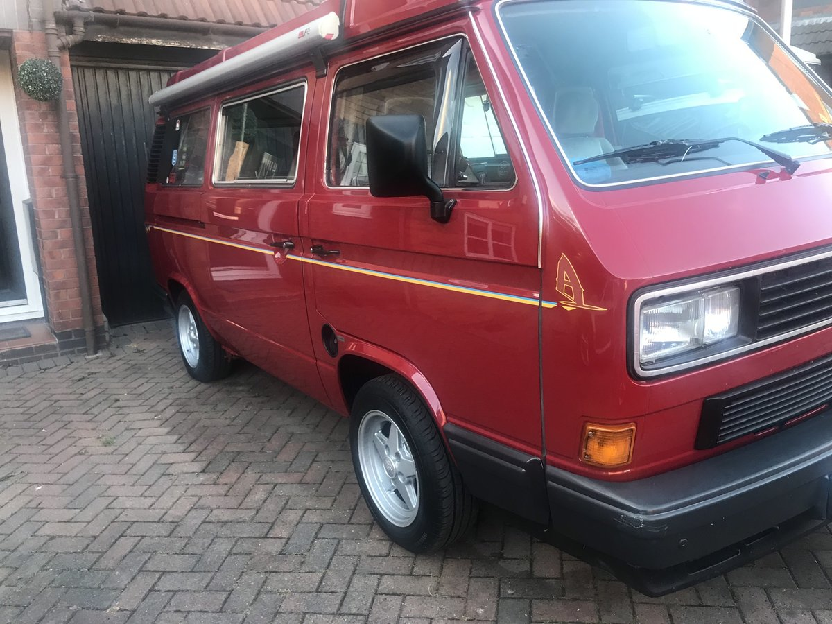1989 VW T3 Westfalia California SOLD (picture 4 of 5)