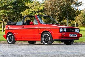 1993 VW GOLF GTI SPORTLINE CABRIOLET 1 Owner  Est£20-£25,000 For Sale by Auction