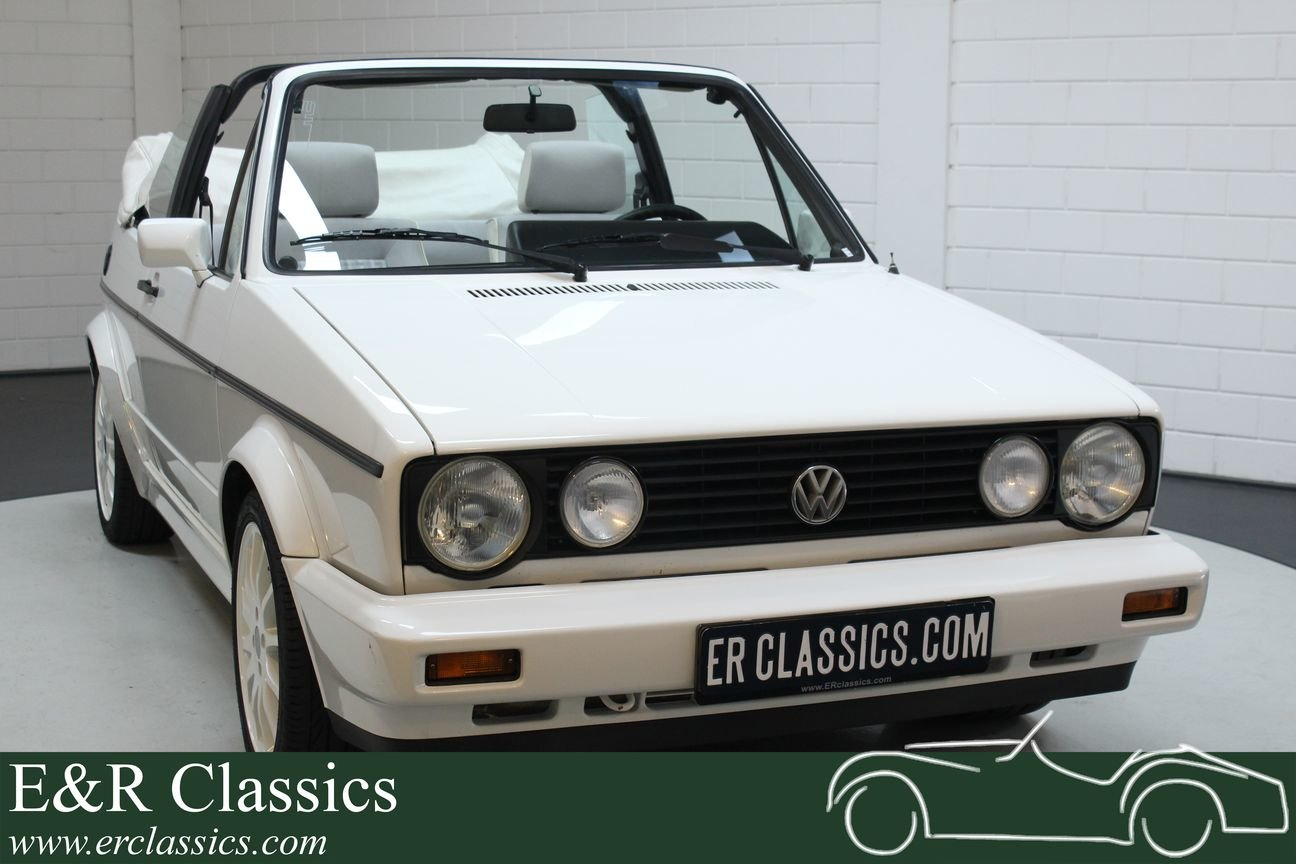 Volkswagen Golf MK1 Cabriolet 1994 White Edition For Sale (picture 1 of 6)