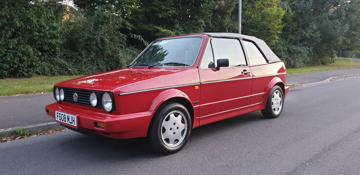 1988 Volkswagen Golf Clipper 1.8 For Sale (picture 4 of 6)