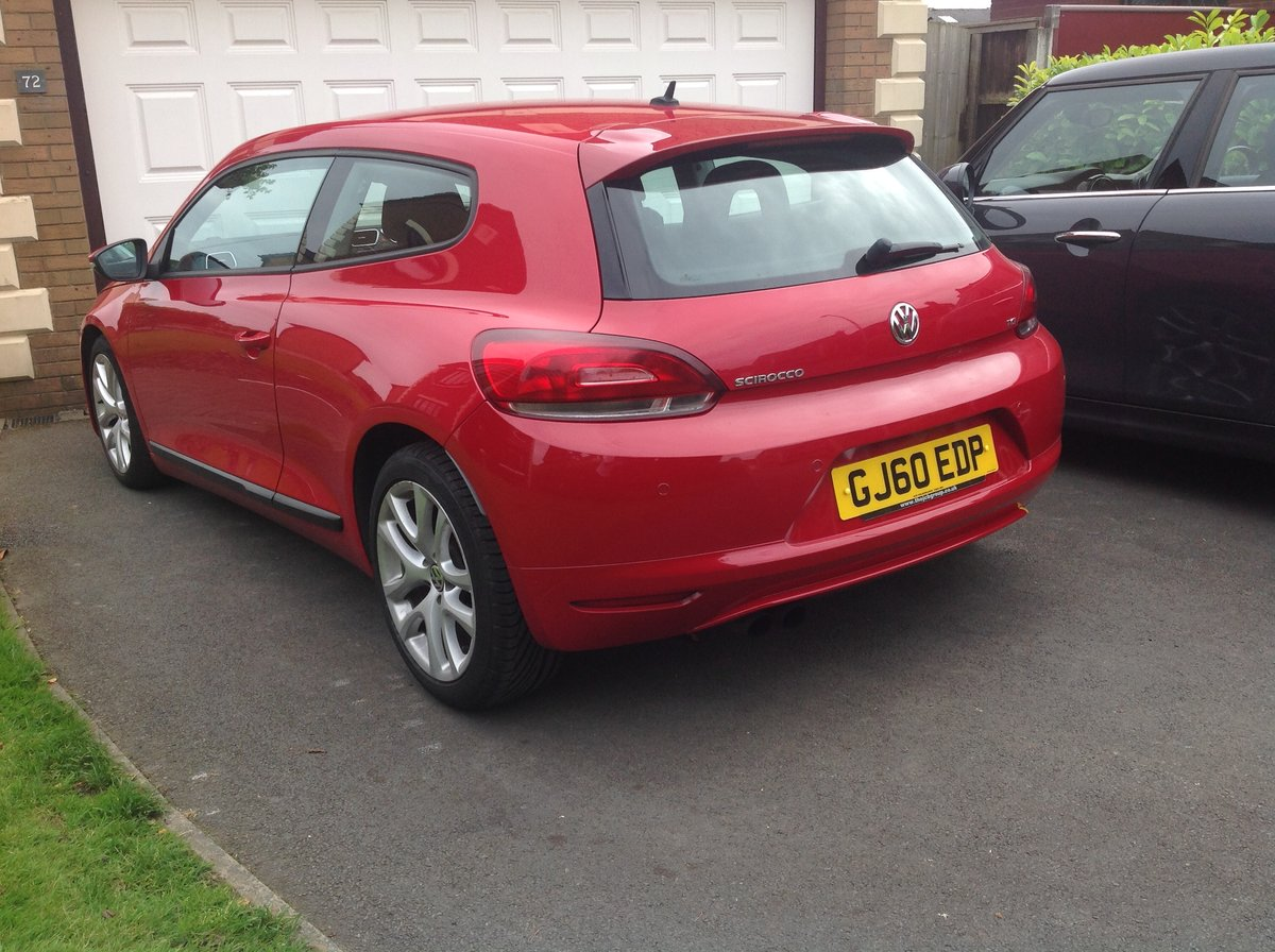 2010 VW Scirocco 1.4TSI (160), one owner from new For Sale (picture 6 of 6)