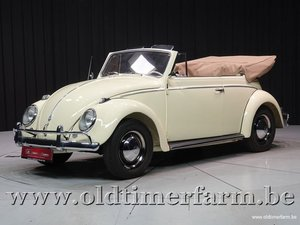 1958 Volkswagen Kever Cabriolet '58