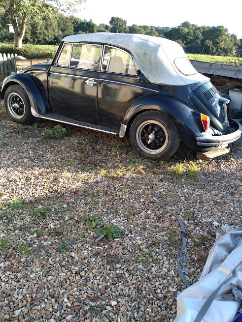 1970 VW Beetle Karman Cabriolet 1600cc  For Sale (picture 1 of 5)