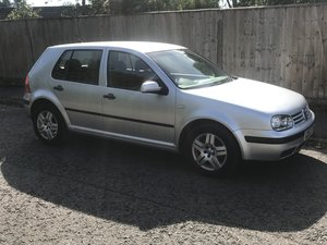 2004 VOLKSWAGEN GOLF 1.6 MATCH AUTOMATIC PETROL ONLY 62000 MILES
