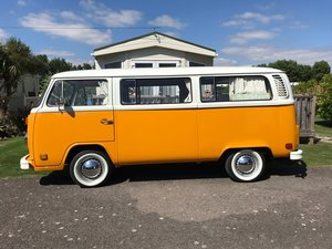 1977 VW T2 BAY WINDOW CLASSIC CAMPER VAN LHD For Sale