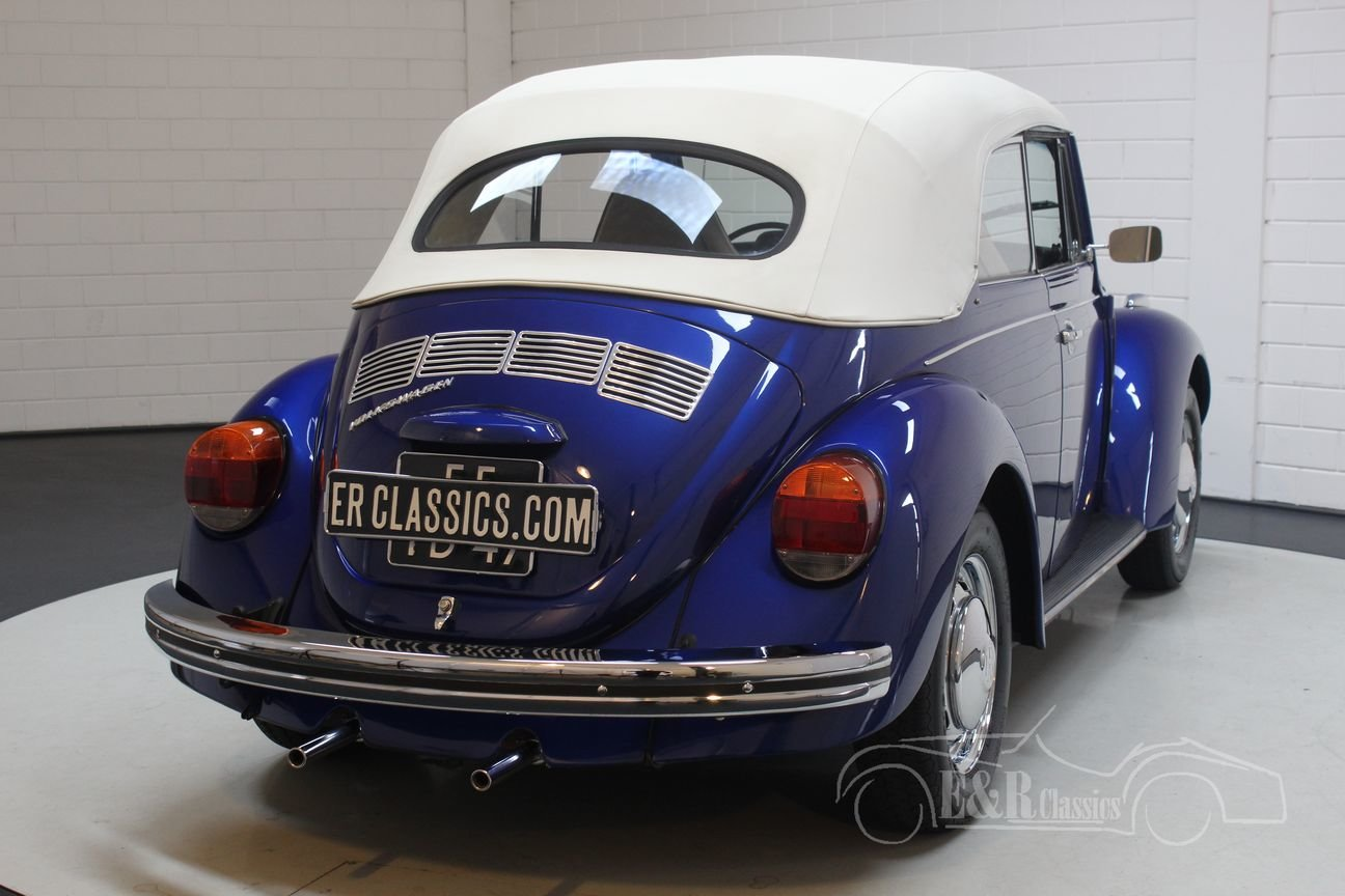 VW Beetle 1500 cabriolet 1970 restored For Sale (picture 6 of 6)