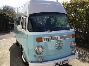 1976 VW T2 Bay hightop called Bluu For Sale