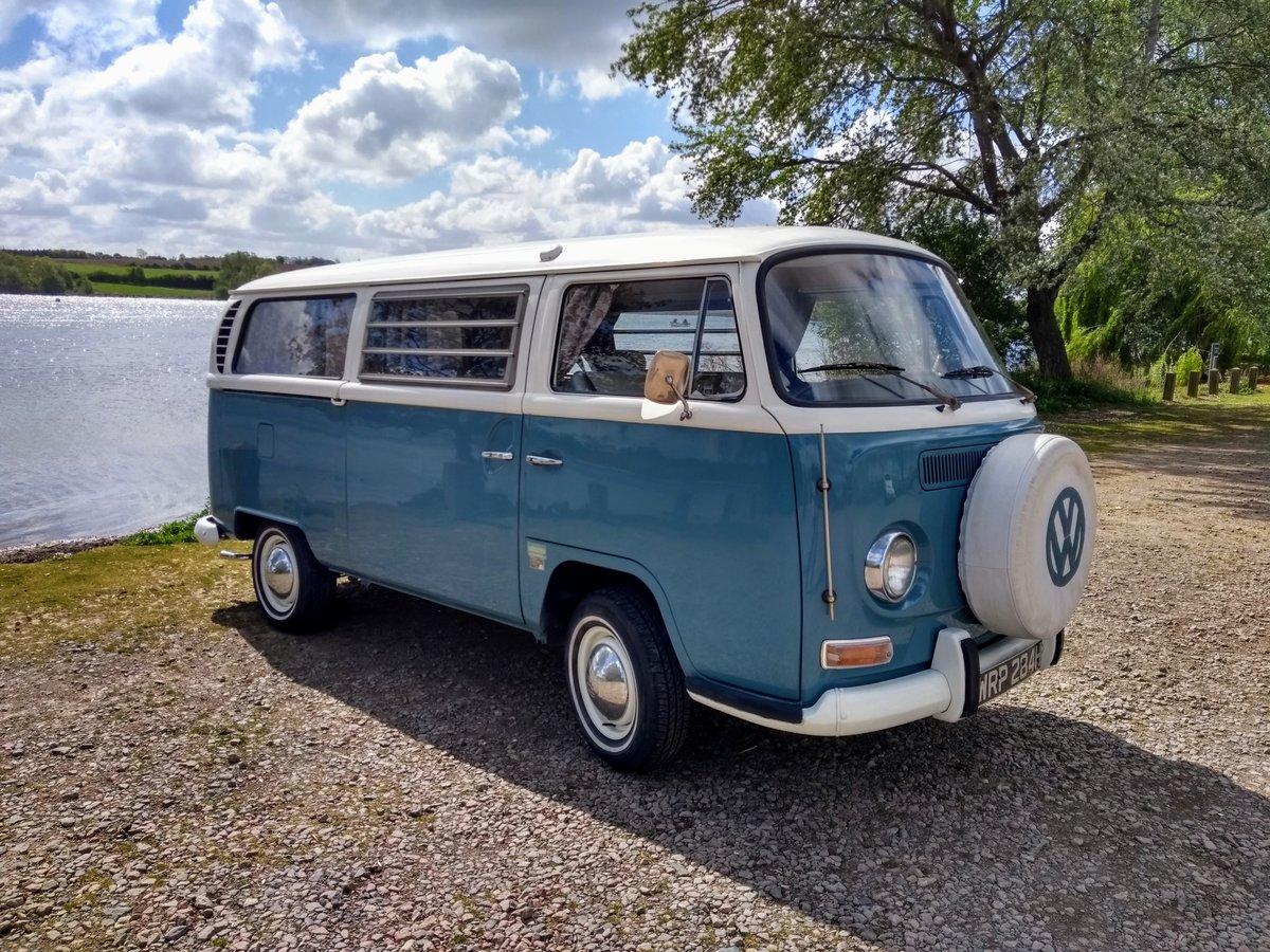 1970 VW Bay Window Camper Van SOLD (picture 1 of 6)