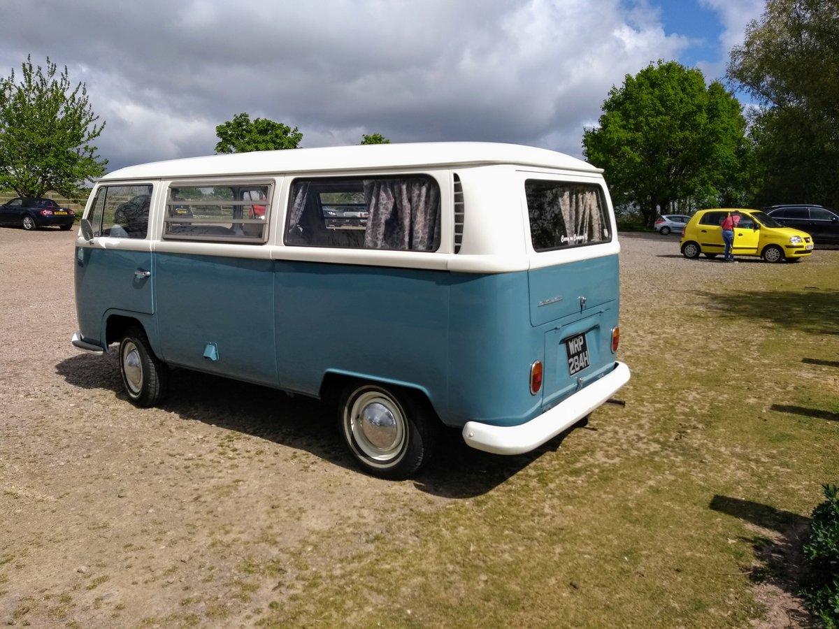 1970 VW Bay Window Camper Van SOLD (picture 2 of 6)