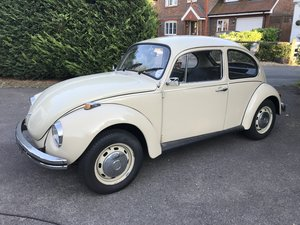 1971 VW Beetle Gorgeous 1302s beautiful cream paintwork For Sale