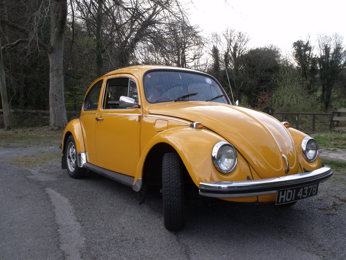 1973 VW BEETLE 1200A For Sale (picture 5 of 6)