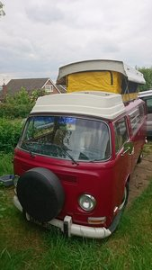 1972 Rivera pop top campervan
