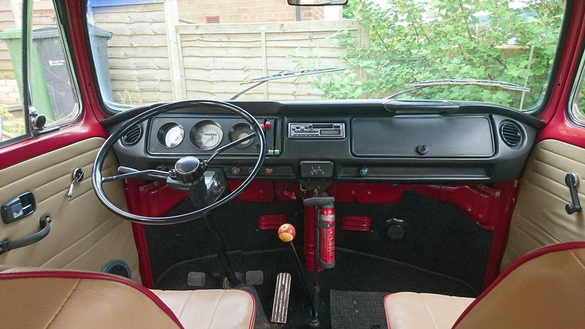 1972 Volkswagen Bay Window Riviera Campervan  For Sale (picture 5 of 6)