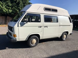 1986 VW T25 Caravelle High Top For Sale