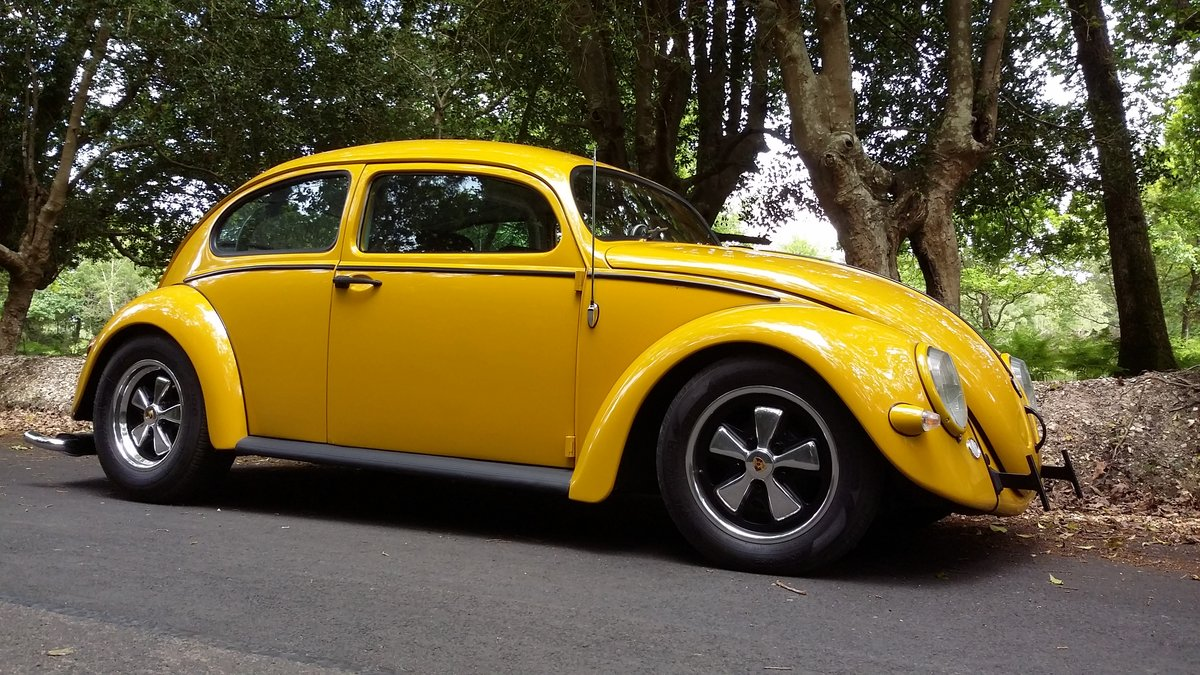 1967 VW Cal-Look bug, recent US import,top notch build For Sale (picture 1 of 6)