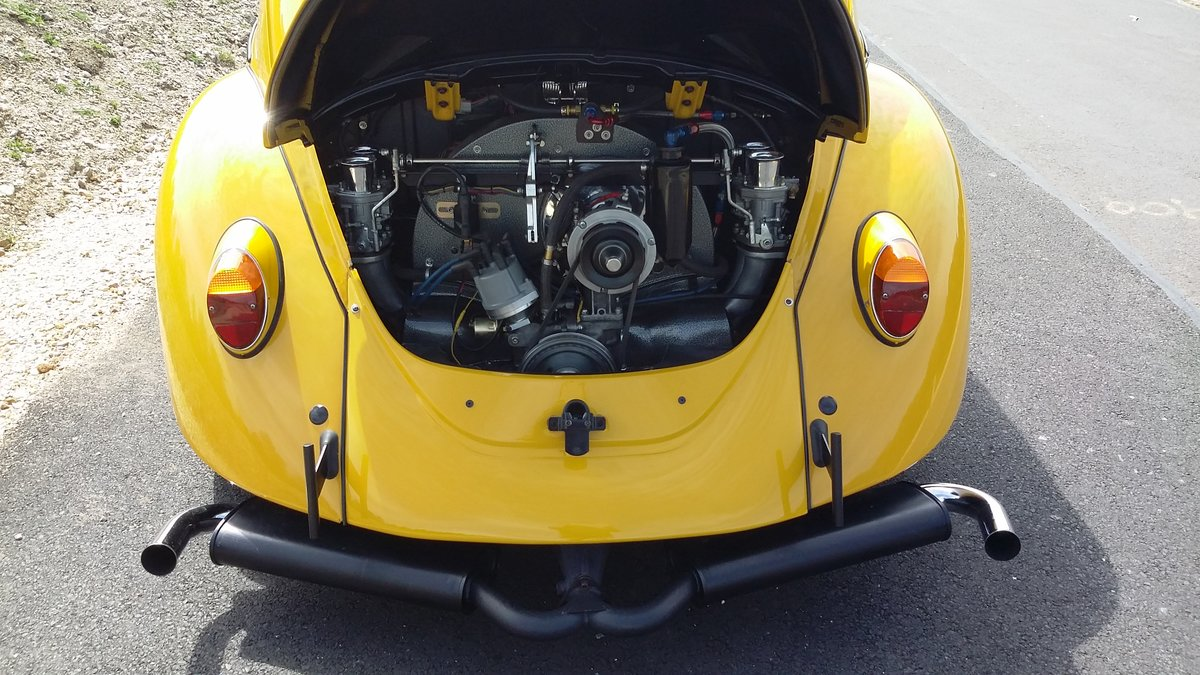 1967 VW Cal-Look bug, recent US import,top notch build For Sale (picture 3 of 6)