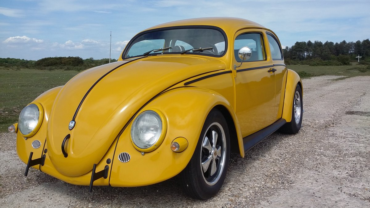 1967 VW Cal-Look bug, recent US import,top notch build For Sale (picture 5 of 6)