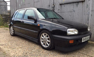 1998 VW Golf mk3 GTI 2.0 16v ABF 4 Owners Black For Sale