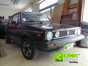 1985 Volkswagen Golf Cabrio 1600 GL, IMPIANTO GPL CONFORME, CARR For Sale