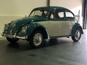 VW Beetle- 1967-low owners-low miles-restored condition SOLD