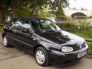 2001 Volkswagen Golf 2.0 Avantgarde Cabriolet SOLD