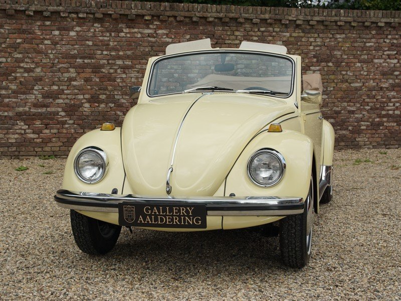 1968 Volkswagen Käfer / Beetle Convertible Long-Term ownership For Sale (picture 5 of 6)
