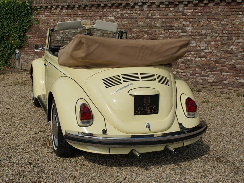 1968 Volkswagen Käfer / Beetle Convertible Long-Term ownership For Sale (picture 6 of 6)