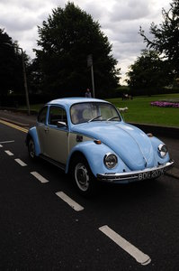 1972 VOLKSWAGEN beetle 65k miles with MOT