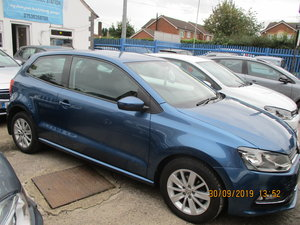 POLO 2015 REG 41,000 MILES CAT N NOW REPAIRED NEW MOT  For Sale