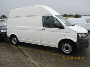 2012 TRANSPORTER LWB HI-TOP 104K SIDE DOOR  JUNE MOT NO VAT For Sale
