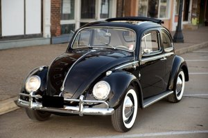 1960 Volkswagen Beetle Rag Top Sunroof Coupe