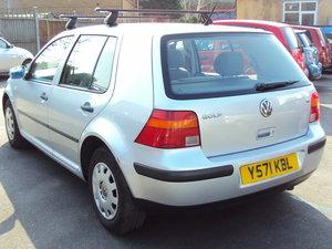 2001 Volkswagen Golf Mark 4 SE AUTOMATIC – 1.6 Petrol SOLD
