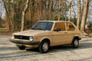 1979 Volkswagen Golf 1.1 GL (ohne Limit/ no reserv For Sale by Auction