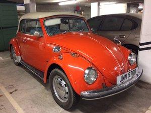1970 VW Karmann Cabrio Beetle