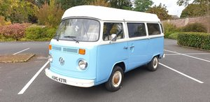 *NOVEMBER AUCTION* 1976 Volkswagen T2 Camper For Sale by Auction
