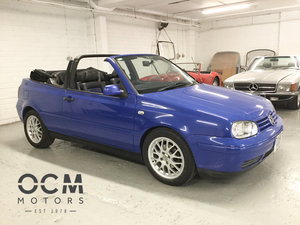 2001 VW Golf GTI Colour Concept Cabrio Auto